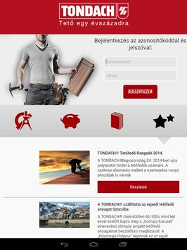 TONDACH® Tetőfedő Alkalmazás poster
