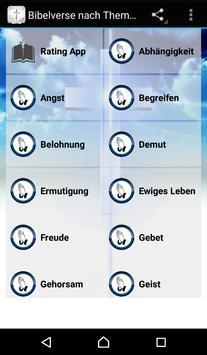 Bible Verses in German poster