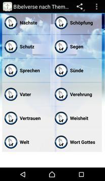 Bible Verses in German apk screenshot