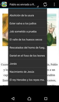Biblia para niños Español apk screenshot