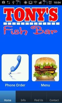 Tonys Fish Bar poster