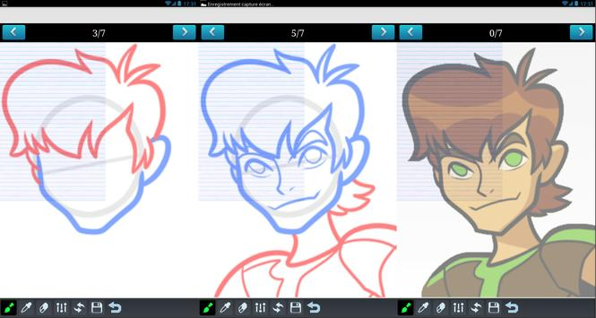 How To draw Ben 10 poster