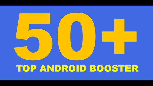 50+ Android Booster poster