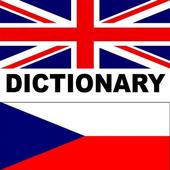 Czech-English: Dictionary icon