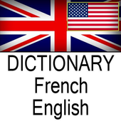 French-English: Dictionary icon