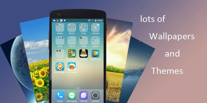 iLauncher 10 plus apk screenshot