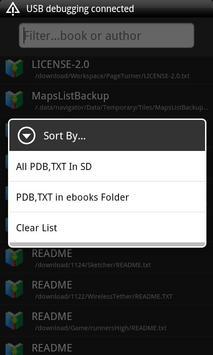 PDB Book Reader apk screenshot