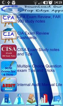 CISA IT & IS Governance EXAM apk screenshot