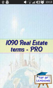 Real Estate Terms & Definition poster