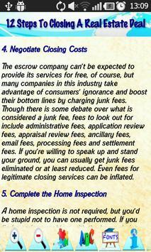 Real Estate Terms & Definition apk screenshot