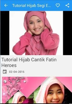 Tutorial Hijab Segi Empat New apk screenshot