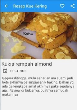 Resep Kue Kering Lengkap apk screenshot