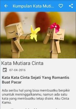 Kumpulan Kata Kata Mutiara apk screenshot