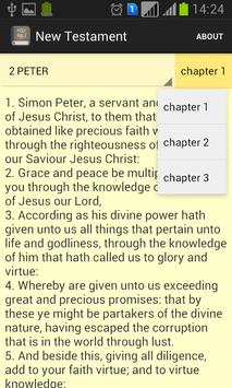 Holy Bible(ESV) apk screenshot
