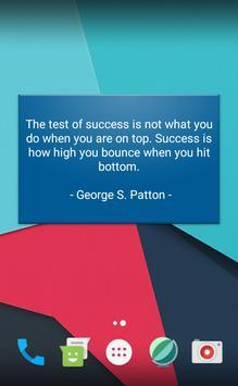 inspirational brilliant quotes apk screenshot
