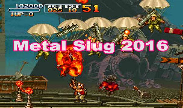 Guide for Metal Slug 2016 poster