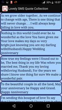 Lovely SMS Quote Collection apk screenshot