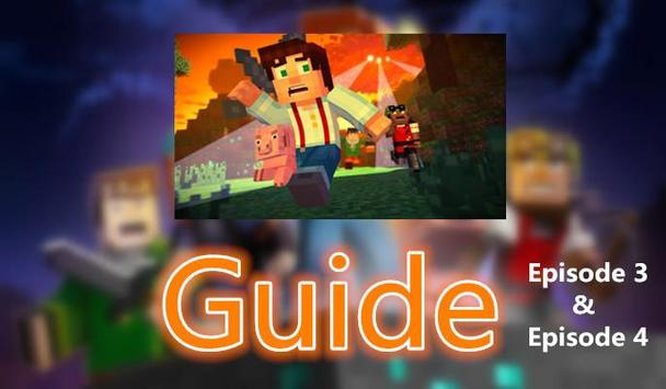 Guide Minecraft Story Mode 3-4 poster
