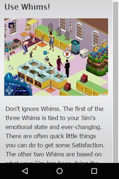 Cheats for The Sims apk screenshot