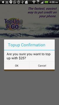 TopUp&Go apk screenshot