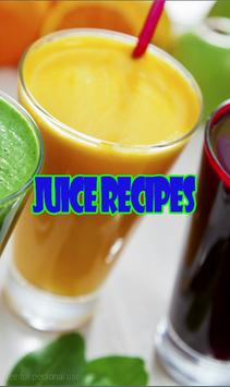 Healthy Juice Recipes poster