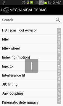 Mechanical Terms apk screenshot