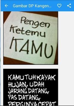 Gambar DP Kangen Pacar Sahabat apk screenshot