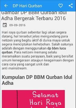Dp Qurban Idul Adha Bergerak apk screenshot