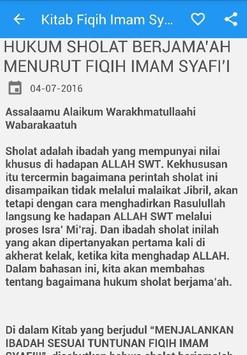 Kitab Fiqih Imam Syafii apk screenshot