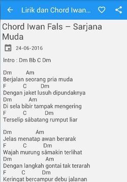 Lirik Chord Iwan Fals Mania poster