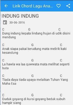 Lirik Lagu Anak Indonesia poster