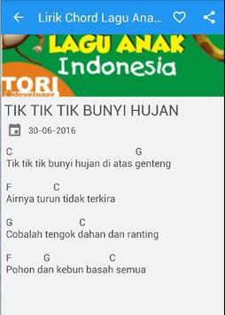 Lirik Lagu Anak Indonesia apk screenshot