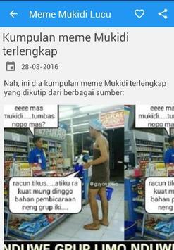 Gambar Meme Mukidi apk screenshot