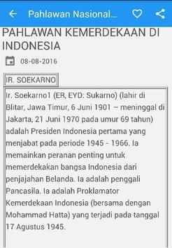 Pahlawan Nasional Indonesia poster