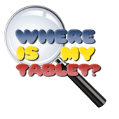 Where is my Tablet? icon