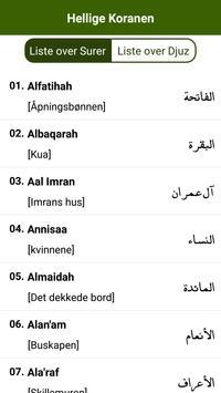 Koranen norsk apk screenshot