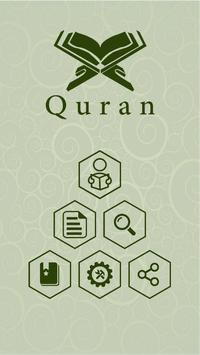 Quran English poster