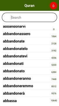 Corano italiano apk screenshot