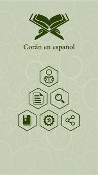 Corán en español poster