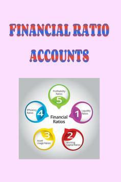 Financial Ratios (Accounts) poster