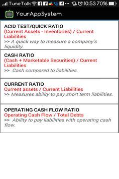 Financial Ratios (Accounts) apk screenshot
