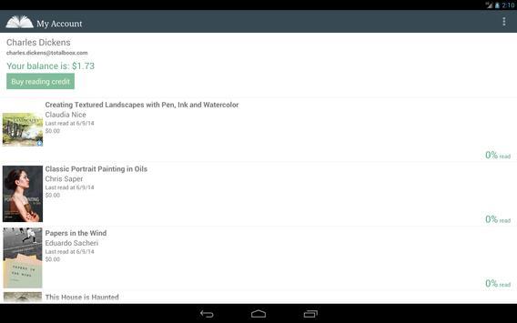 E-Books Reader App apk screenshot