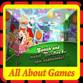 About Candy Crush Saga poster