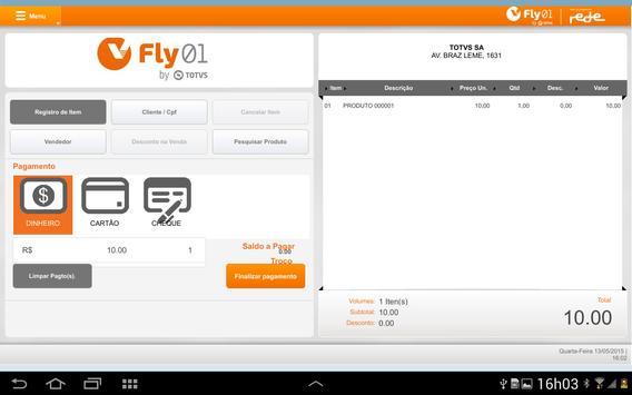 TOTVS FatClient ERP (BETADEMO) apk screenshot