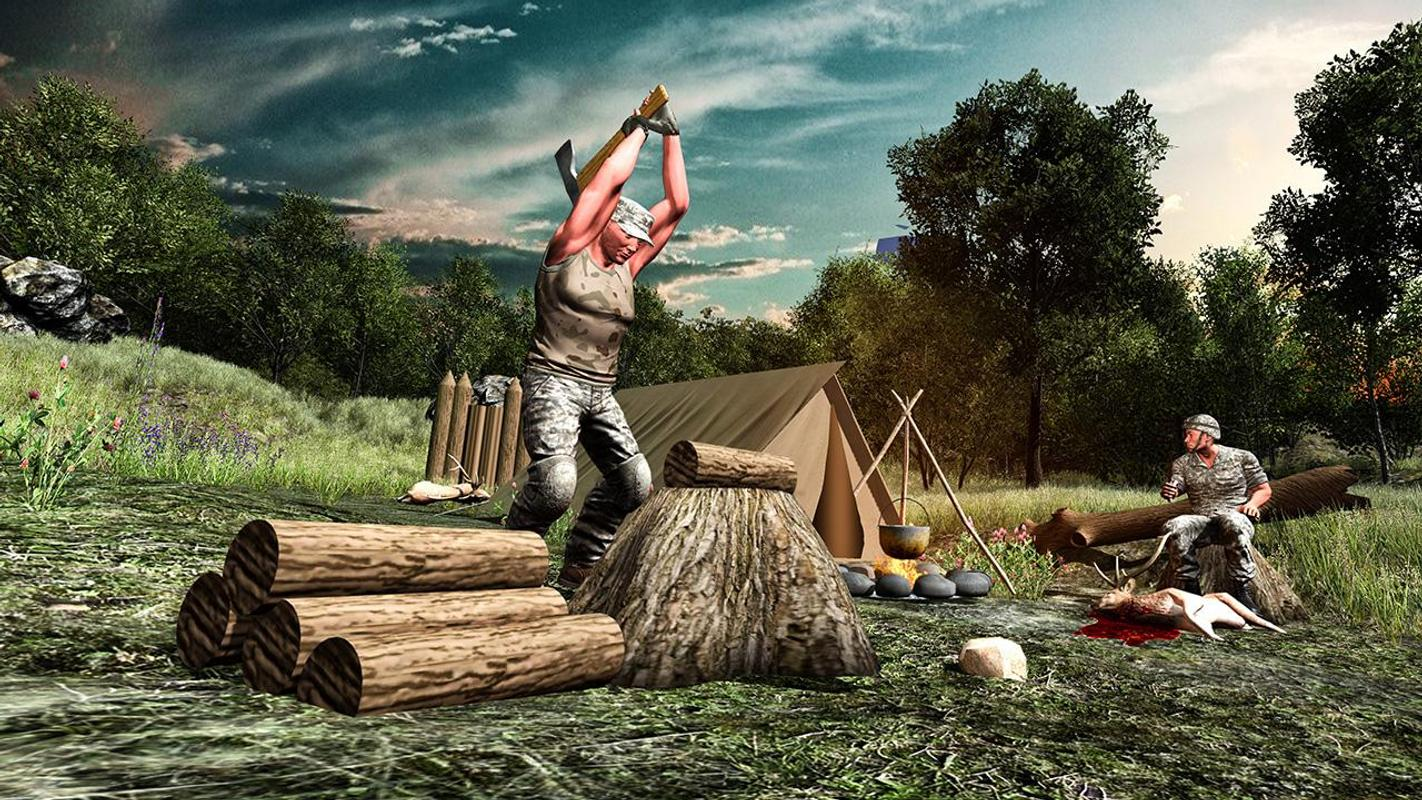 Survival military training apk download free action game for Survival fishing games