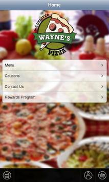 Wayne's Pizza poster