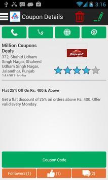 Million Coupons Business apk screenshot