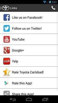 Toyota Carlsbad DealerApp apk screenshot