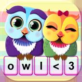 Cute Owl Keypad Changer icon