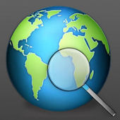 GPS or Network Tracking icon